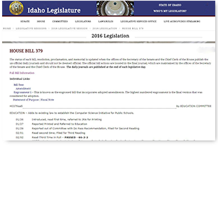 Computer Science Legislation PDF Document