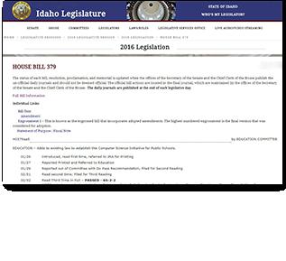 Computer Science Legislation PDF Document