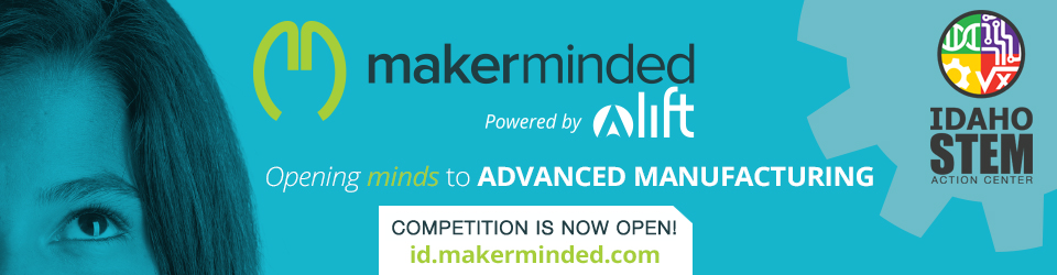 MakerMinded Competition is now open!