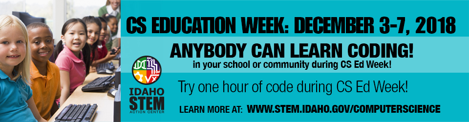Click here for Computer Science Education Week Information