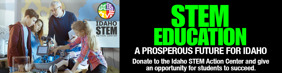 Click here to Donate to STEM Education in Idaho