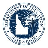 Idaho State Dept. of Education Website