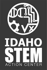 STEM Logo Vertical White