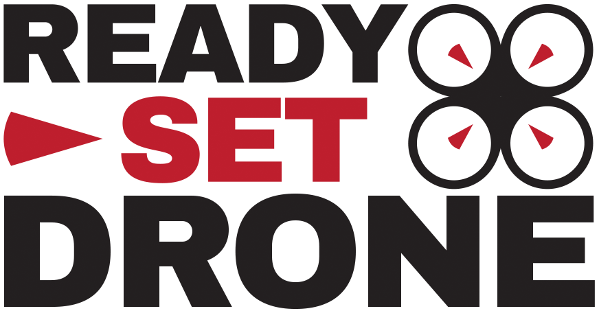 Ready, Set, Drones! Logo