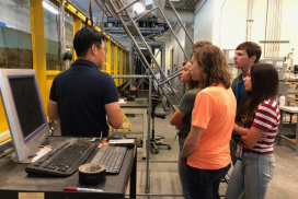 Heidi Maimer at University of Idaho, Center for Ecohydraulics Research