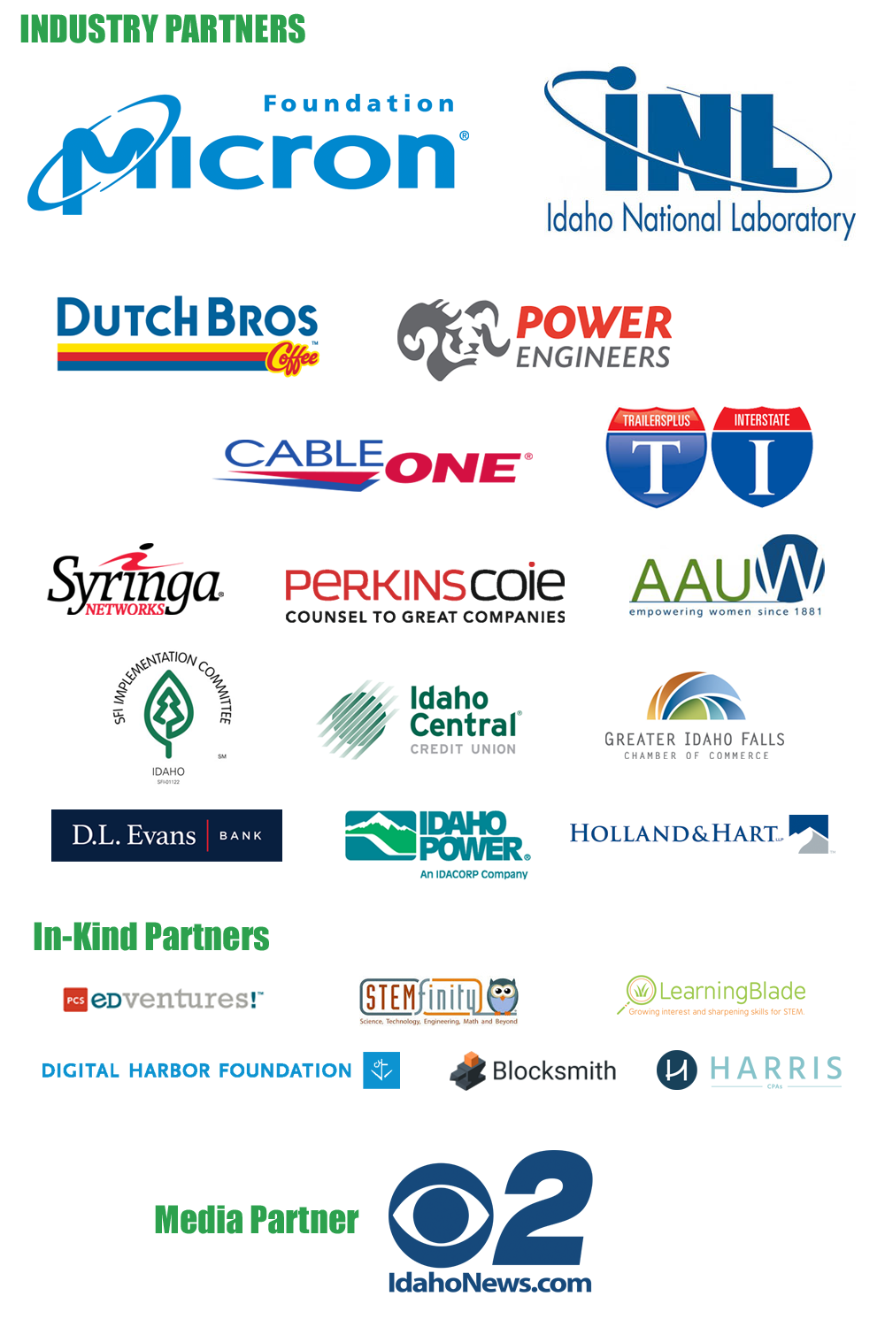 STEM AC Industry Partners
