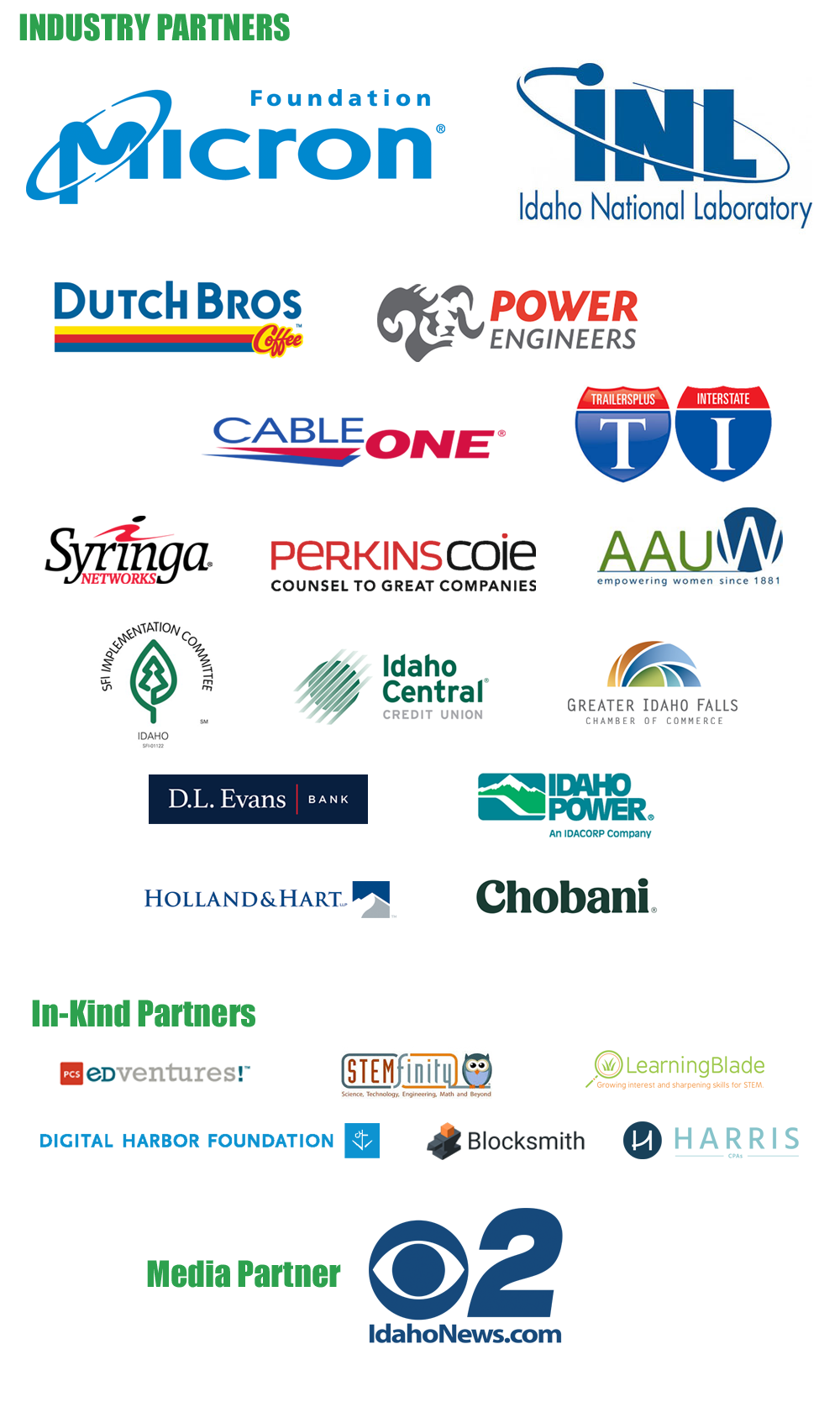 Industry Partners of Idaho STEM Action Center