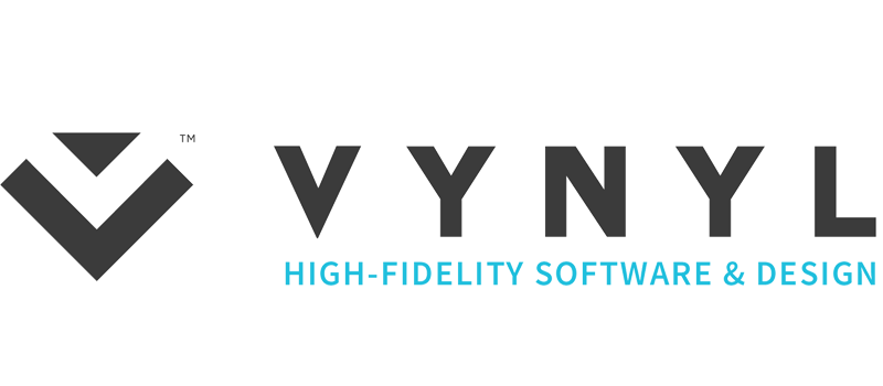 VYNYL High-Fidelity Software & Design Website