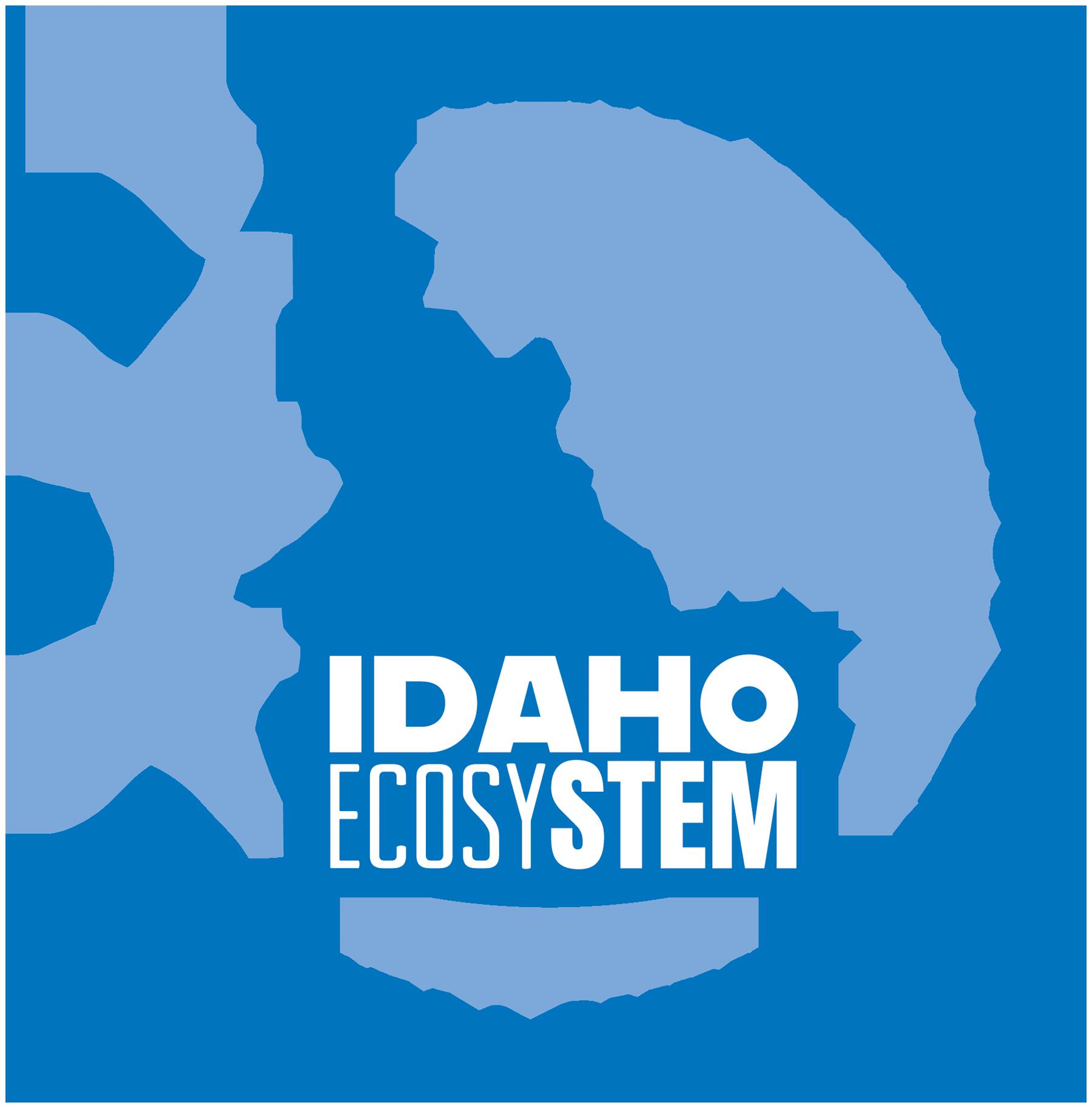 EcosySTEM logo Blue PNG Format