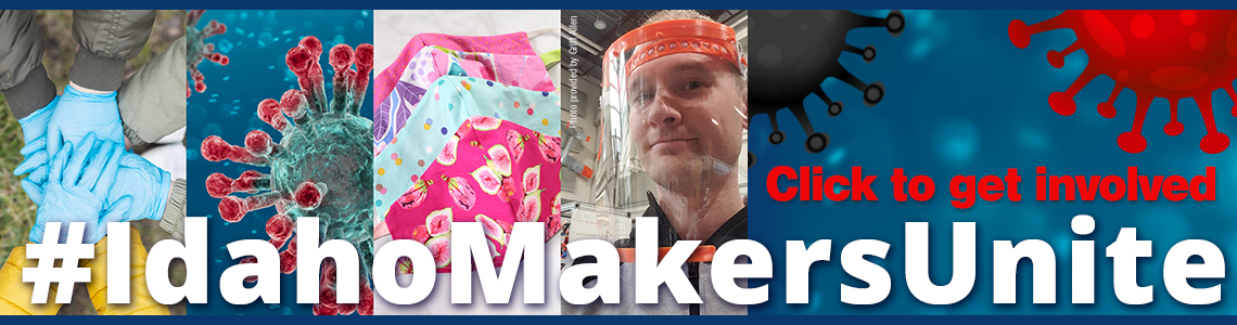 Idaho Makers Unite to make PPE