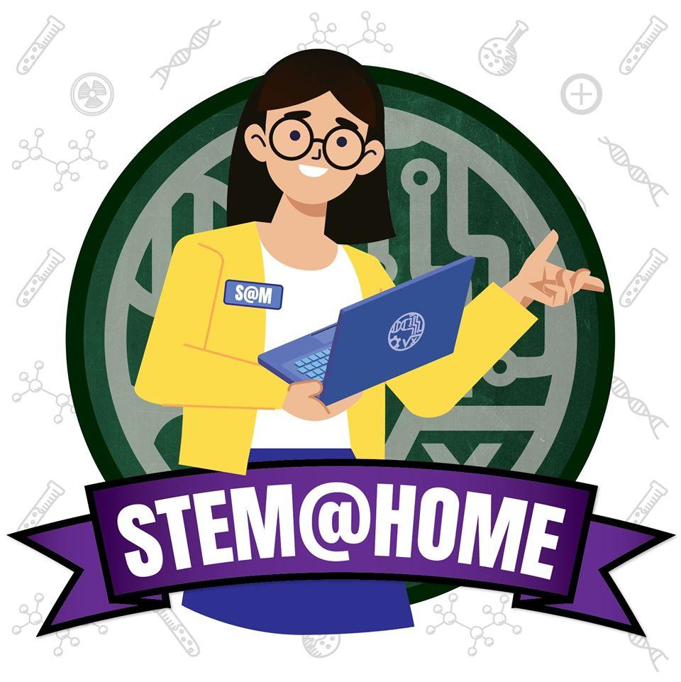 STEM@HOME Logo