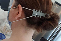 3D Printed Surgical Mask Ear Saver