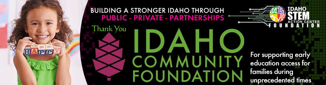 Thank you Idaho Community Foundation!