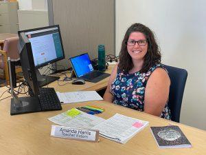 Amanda Harris at OSBE
