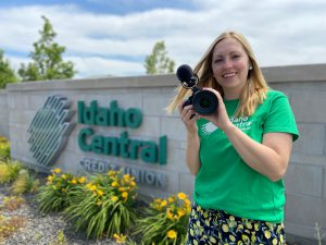 Danielle Swenson at Idaho Central Credit Union