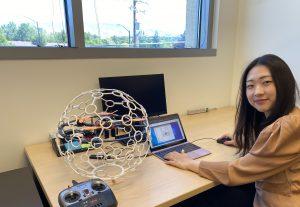 Hannah Ziegler at iDrone (Idaho Drone League, University of Idaho)