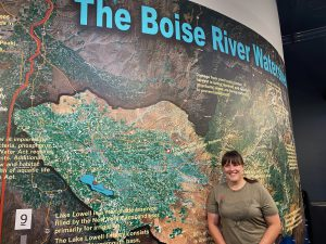 Heather Hellwig at Boise Watershed