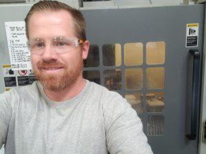 Nathan Bushard at G Zero CNC Machine