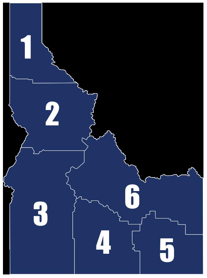 Idaho Educational Regions