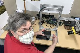 Terry Varnado externship at Schweitzer Engineering