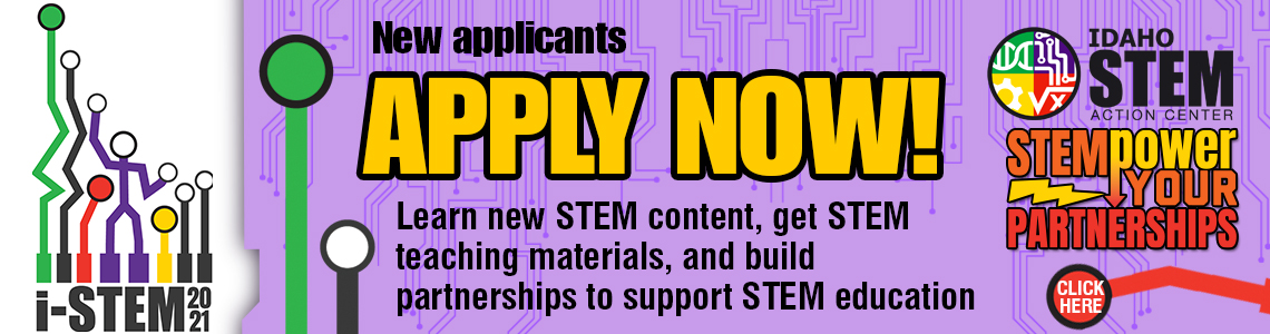 Apply for i-STEM Institutes
